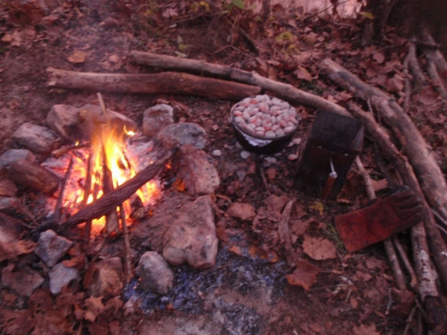 Eleven Point River, Dutch Oven, GSI, Charcoal Chimney