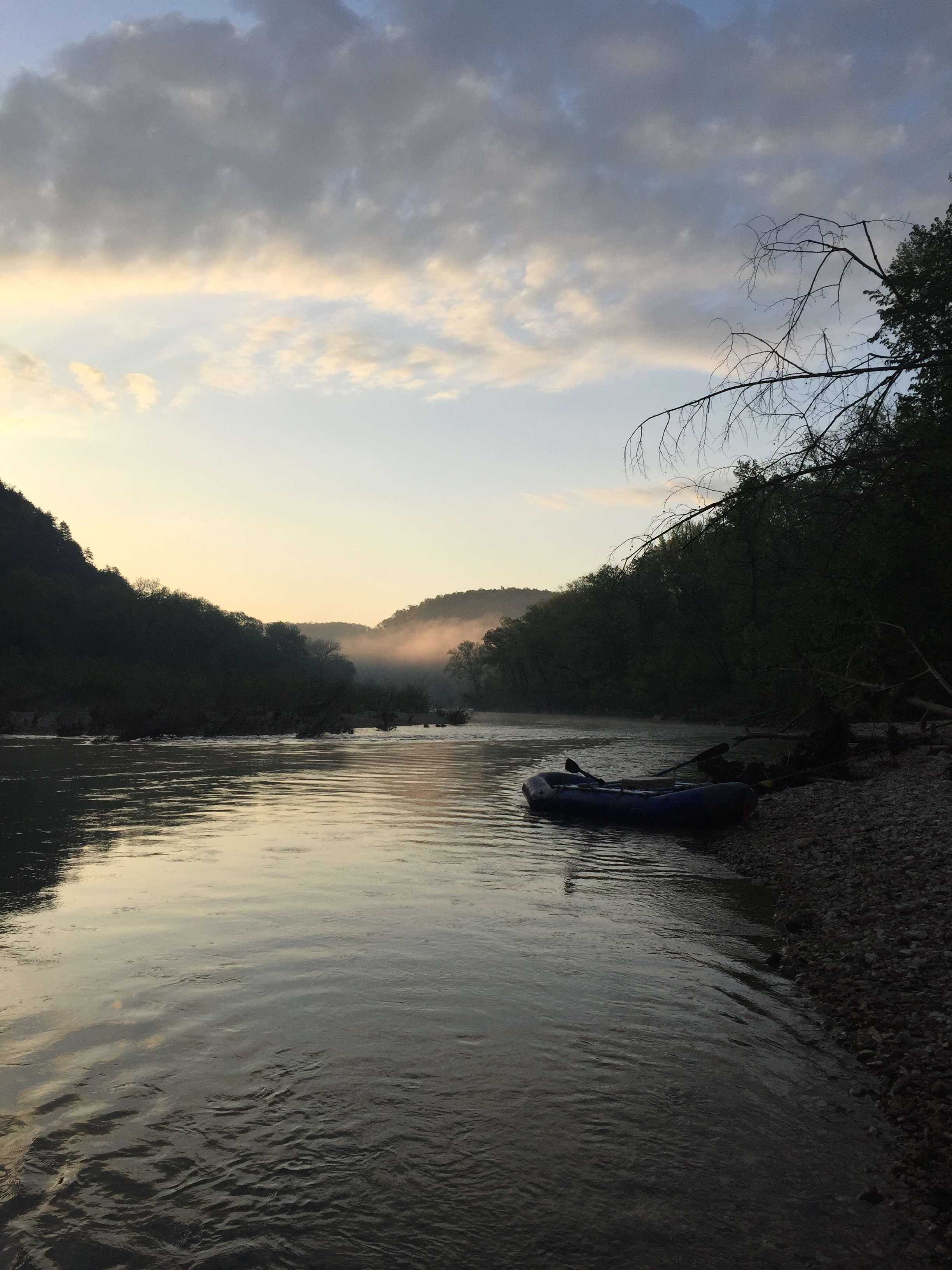 Buffalo National River, Aire Raft, Float Camping