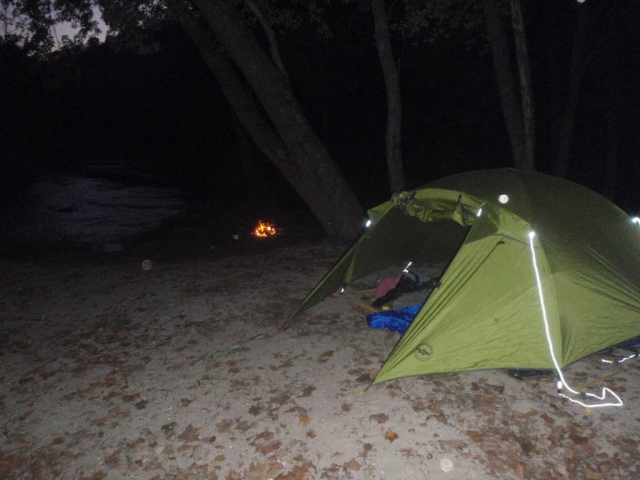Eleven Point River, Big Agnes, Campfire