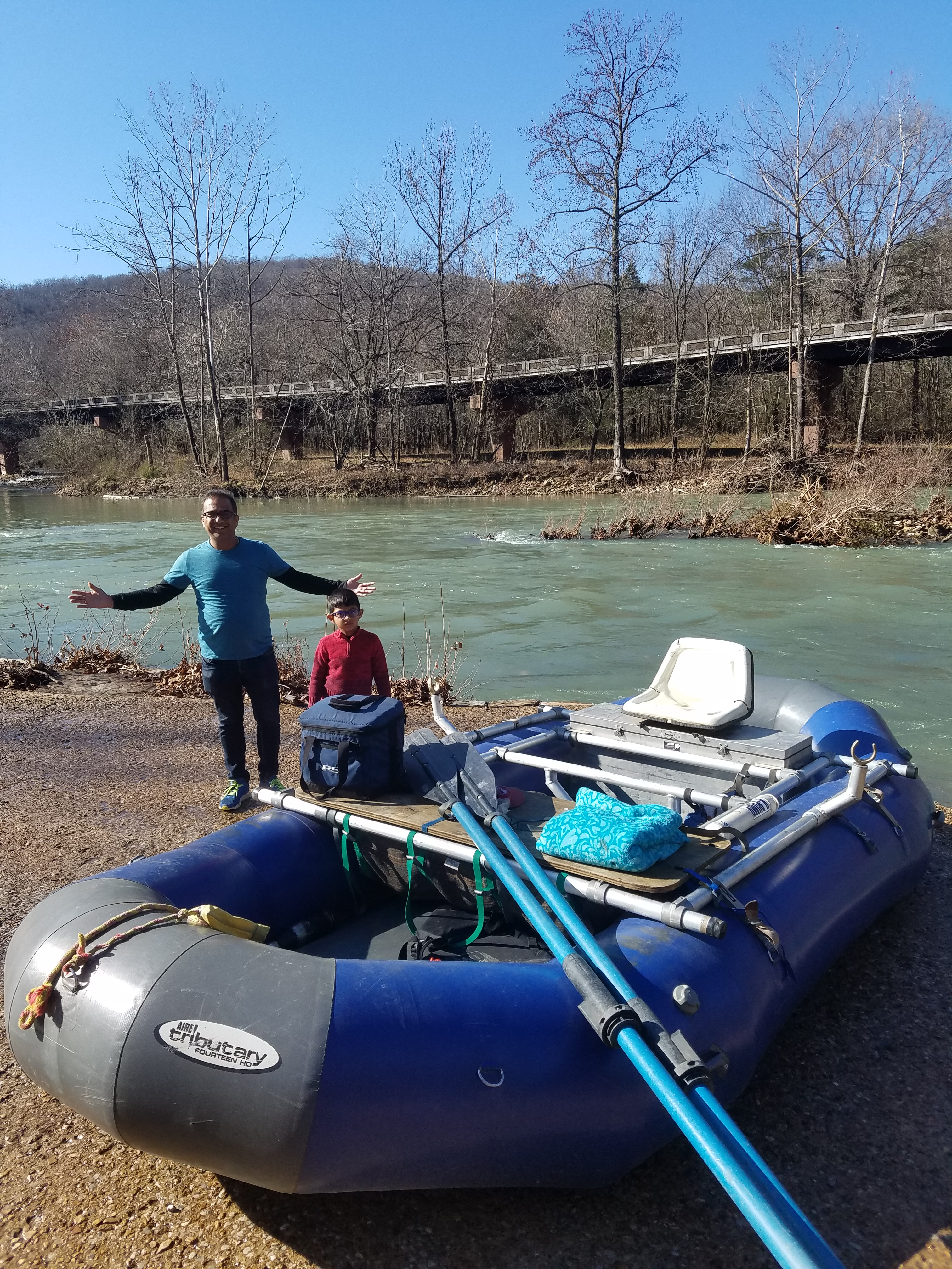 Ponca, Buffalo National River, Aire Tributary